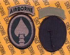US Special Operations Command Airborne USSOCOM ACU patch m/e