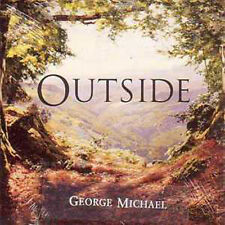 George MICHAEL CD single Outside 2-track CARD SLEEVE