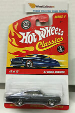 '67 Dodge Charger * Dark Purple * Classics Hot Wheels * N110