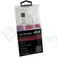 Cavo cavetto OBA per iPad Air 2 4 Pro mini carica sincronizza USB 1m