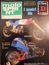 Motosprint 10 1978 Salone di Parigi - Test SWM 320 Trial di Coutard [SC.31]