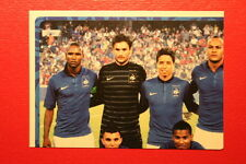 Panini EURO 2012 N. 457 FRANCE TEAM  NEW With BLACK BACK TOPMINT!!