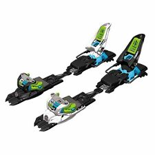Marker Squire 11 Schizo White/Black/Green/Blue 90mm Ski Bindings