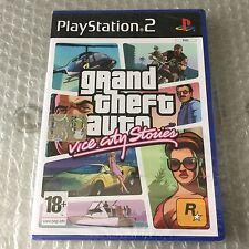 VINTAGE# PS2 PLAYSTATION GTA GRAND THEFT AUTO VICE CITY Stories# PAL SEALED