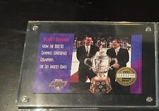 1993 UPPER DECK LIMITED EDITION #4011 OF 10,000 L.A. KINGS HOCKEY HOLIDAY CARD