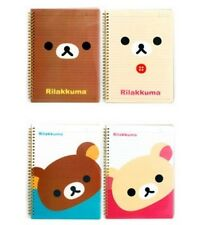 San-X Rilakkuma Clear PP Cover Notebook,Journal - 4 Different Design
