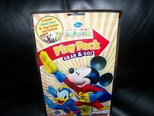 Disney Mickey Mouse 24 - Page Fun Size Coloring Book 4 crayons, 1 sticker Sheet