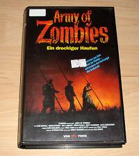 VHS - Army of Zombies - Ein dreckiger Haufen - Horrorfilm 1992 - Videokassette