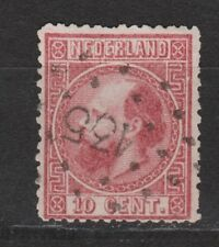 NVPH Netherlands Nederland 8 TOP CANCEL ZWOLLE 135 Willem III 1867 3e emissie