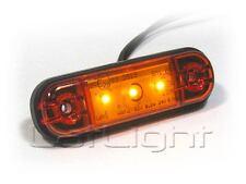 10x LED Seitenmarkierungsleuchten Umrissleuchte LKW Positionslicht 12 24 Volt