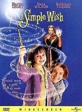 A SIMPLE WISH (DVD) READ DETAILS FIRST MARTIN SHORT MARA WILSON KATHLEEN TURNER