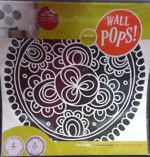 "NIP Wall POPS! Bali 4 Dots Peel Stick Move Wall Decal Removable 13"" Mix Match"