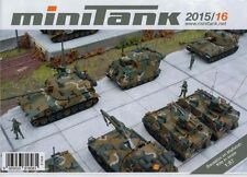 ROCO/MINITANK Brochure leaflet catalog 2015/16 Tanks Military H0 1:87 NEW