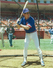 LARRY BOWA CHICAGO CUBS 8 X 10 PHOTO/ULTRA PRO TOPLOADER