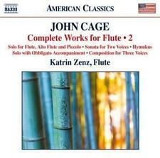 John Cage - Complete Works for Flute #2 / Katrin Zenz *CD*NEU*