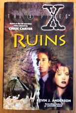The X Files Ruins Kevin J. Anderson Hardcover