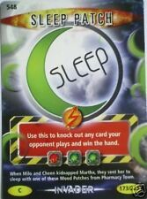DR WHO INVADER CARD 548 SLEEP PATCH  - MINT !!