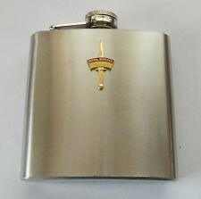 43 COMMANDO FLEET PROTECTION GROUP ROYAL MARINES DAGGER HIP FLASK