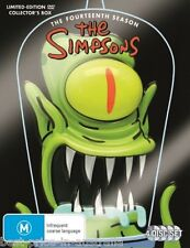 THE SIMPSONS: COMPLETE Season 14 DVD NEW HEAD LIMITED ED. COLLECTOR TV SERIES R4