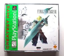 Final Fantasy VII - Sony Playstation 1/PS1/PSone (TESTED!)
