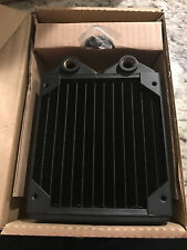 koolance water cooling HX-120XC Radiator with free fan mounting screws