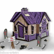 28cm Halloween Haunted Shack House Party Mesa Central Decoración