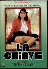 LA CHIAVE (Stefania Sandrelli) - DVD NUOVO E SIGILLATO, PRIMA STAMPA ITALIANA