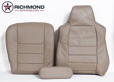 2005 Excursion Limited -Driver Side Complete Replacement Leather Seat Covers TAN