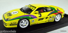 BANG 1/43 SCALE - 9507 FERRARI F355 CHALLENGE 95 SCHENETTI DIECAST MODEL CAR