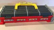 HOT WHEELS LAUNCH PIT STOP GRANDSTAND 1997 MATTEL CARRY CASE
