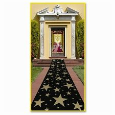 GOLD STAR Walkway FLOOR RUNNER Party Decoration HOLLYWOOD AWARD New Year's Eve