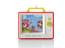 2012 Hallmark FISHER PRICE Ornament TWO TUNE TV Musical - Row Row Your Boat