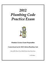 2012 Uniform Plumbing Code Practice Exam in Book Form