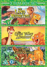 The Land Before Time - 3 Film Collection - Dvd - Animation / Dinosaur - New