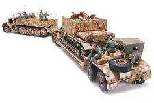 "Tamiya - 1:35 scale plastic model kit-german ""famo"" & tank transport - #35246"