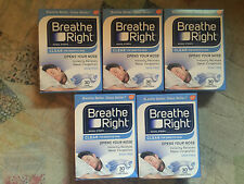 (150) BREATHE RIGHT NASAL STRIPS LARGE CLEAR ( 5 x 30 Ct Boxes) Ships World Wide