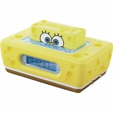 Spongebob Squarepants New Clock-It ALARM CLOCK RADIO from Nickelodeon