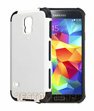 for Samsung galaxy i9600 S5 G900 hard case 2 layer white black shockproof hybrid