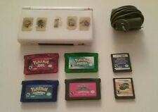 white nintendo ds lite pokemon bundle