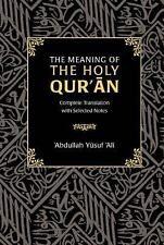 The Meaning of the Holy Qur'an (2016, Hardcover)