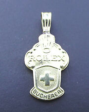 Genuine Rolex  925 Spoon Pendant Made from Collectors Spoons Dipped in 18ct Gold