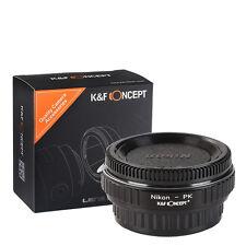 Optical Glass Adapter for Nikon lens To Pentax PK K-r K-M K-X K-7 K-10D K-30/20D