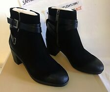 Ladies MICHAEL Michael Kors Fawn Booties SUEDE BLACK  6M  36  NEW $225.00