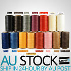 284Yards 260M 1mm Waxed wax Thread String Cord for Leather Stitching DIY