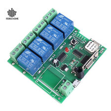 5V 4-Channel Inching Self-Lock For Cellphone Control Interlock Wifi Relay Module