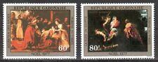 Gabun Michelnummer 646 - 647 postfrisch (Rubens : 12 )