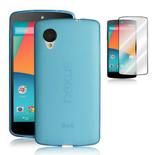 2014 NEW Google Nexus 5 LG Frost Back Case [Matte]+Free Clear Screen Protector