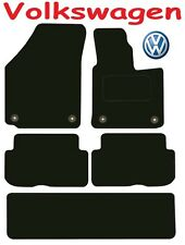 VW Touran DELUXE QUALITY Tailored mats 2010 2011 2012 2013 2014