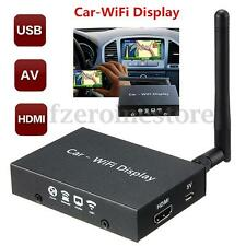 Car WiFi 3D Display System Mirror Link Box Miracasst DLNA HDMI For Android iOS