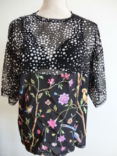 Top blouse en viscose CLASS ROBERTO CAVALLI taille 44 IT / 40 FR Neuf